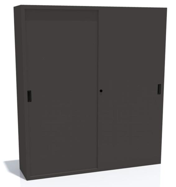 Varni in zaščiteni dokumenti v kovinski omari